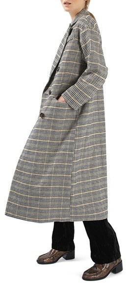 TopshopWomen's Topshop Heritage Check Coat