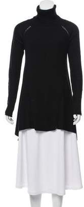 Tess Giberson Wool-Blend Turtleneck Tunic