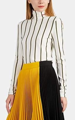 Calvin Klein Women's Striped Turtleneck Top