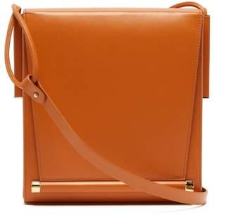 Roksanda Box Medium Leather Shoulder Bag - Womens - Tan
