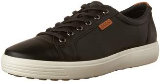 Ecco Shoes Men's Soft 7 Sneaker Black Sneaker