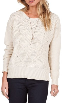 Women's Volcom Chained Down Knit Crewneck Sweater $49.50 thestylecure.com