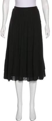 By Malene Birger Pleated Knee-Length Skirt