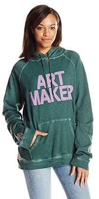 Freecity Women's Art Maker Studded P/o Hoodie