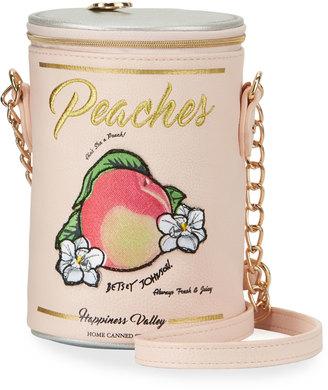 Betsey Johnson Ain't She A Peach Crossbody Bag, Orange $55 thestylecure.com