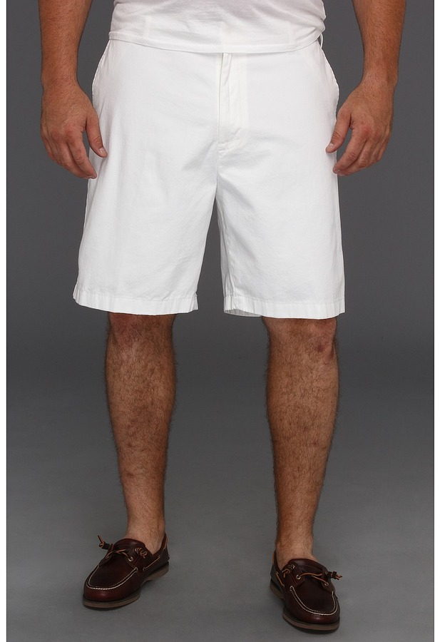 Nautica Big Tall Flat Front Short (Provence) - Apparel