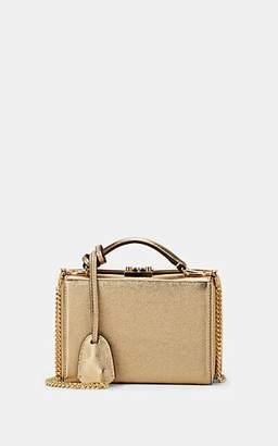 Mark Cross Women's Grace Small Metallic Leather Box - Gold