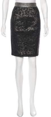 Proenza Schouler Brocade Pencil Skirt