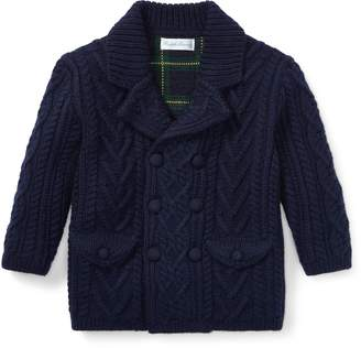 Ralph Lauren Cable-Knit Merino Cardigan