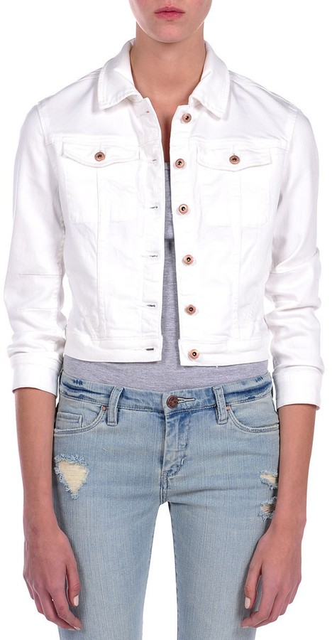 Blank NYC Crop Denim Jacket