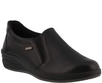 Spring Step Flexus by Leather Slip-On Shoes - Amaya
