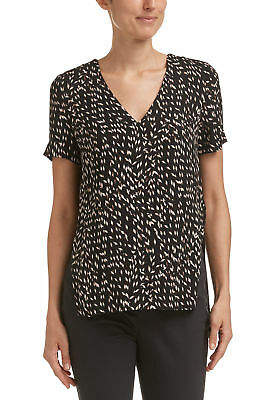 SABA NEW Womens Basketweave Shell Blouse Viscose Crepe - Top Fashion Outfit