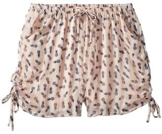 People's Project LA Kids Tropical Day Woven Shorts Girl's Shorts