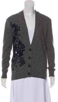 No.21 No. 21 Virgin Wool Embellished Cardigan