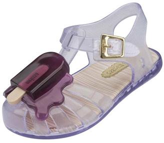 Mini Melissa Purple Popsicle Sandals $58 thestylecure.com