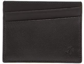 WANT Les Essentiels Branson Grained Leather Cardholder - Mens - Black