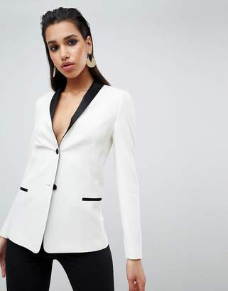 Asos Design DESIGN tailored longline cocktail blazer