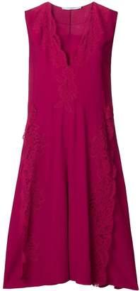 Givenchy lace flared midi dress