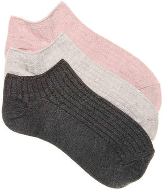 Lemon Modal No Show Socks - 3 Pack - Women's