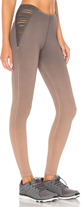 Blue Life Strappy High Waist Leggings $154 thestylecure.com