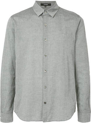 Attachment classic long-sleeve shirt