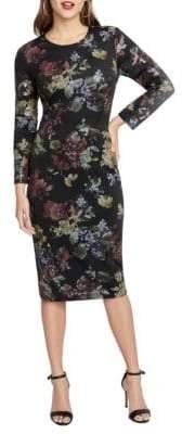 Rachel Roy Cece Floral Scuba Dress