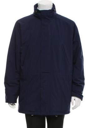 Loro Piana Woven Zip-Up Jacket