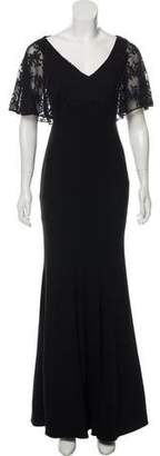 Zac Posen Lace-Accented Evening Gown w/ Tags