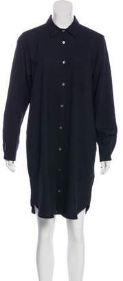Steven Alan Wool Shirt Dress