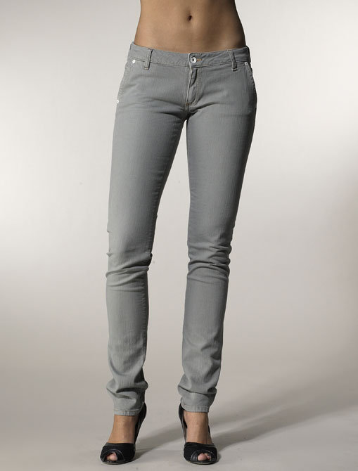 Edun Sylph Trouser Pocket in Grey Garment Dye