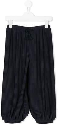 Chloé Kids wide-leg trousers