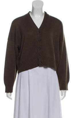 eskandar Heavy Rib Knit Cardigan