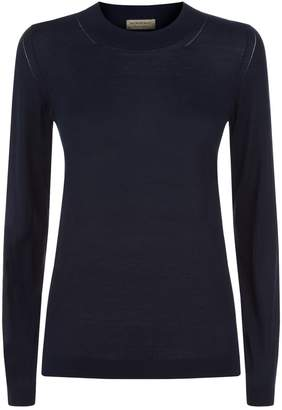 Burberry Cashmere-Silk Sweater
