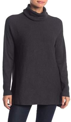 T Tahari Ribbed Knit Turtleneck Sweater (Petite)