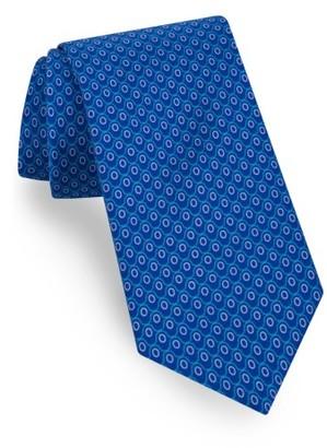 Men's Ted Baker London Geometric Cotton & Silk Tie $95 thestylecure.com