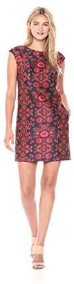 Trina Turk Women's Angelou Sierra Primrose Jacquard Shift Dress