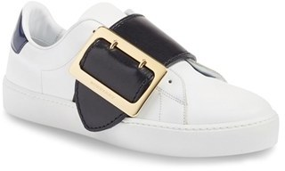 Women's Burberry Westford Buckle Strap Sneaker $675 thestylecure.com