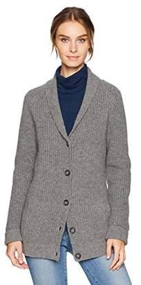 Pendleton Women's Ribbed Lambswool Cardigan Sweater