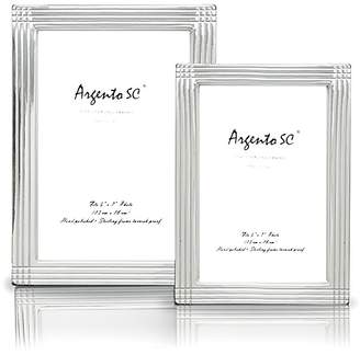 """Argento SC """"Axis"""" Sterling Silver Frame, 5"""" x 7"""""""