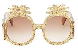 Gucci Women's 53MM Pineapple Sunglasses