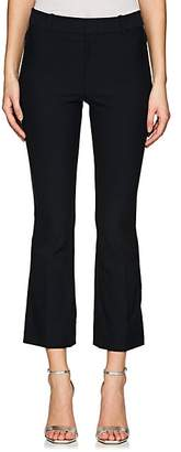 Derek Lam 10 Crosby Women's Stretch-Cotton Crop Flared Pants - Navy