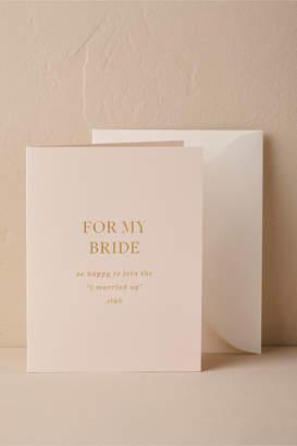 To My Beloved Card