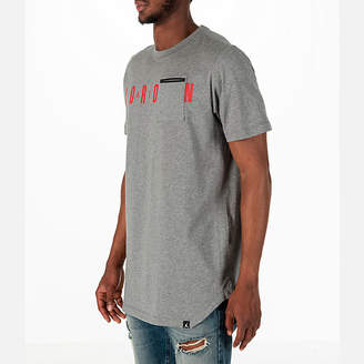 Nike Men's Jordan Sportswear Alt Hem Pocket T-Shirt