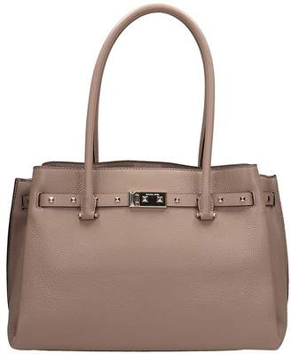 Michael Kors Beige Leather Addison Bag