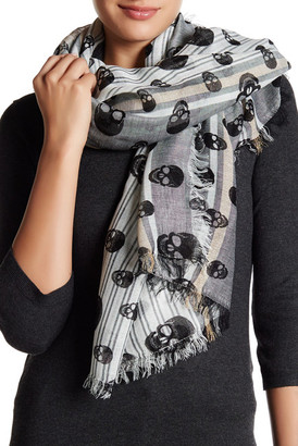 Collection XIIX Skull Stripes Wrap $32 thestylecure.com