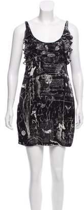 Affliction Silk Mini Dress