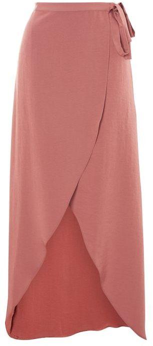 TopshopTopshop Soft wrap maxi skirt