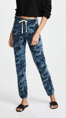 Sundry Vintage Blue Camo Classic Sweatpants