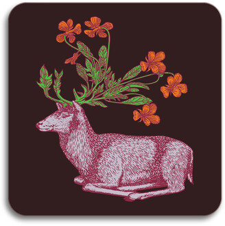 Avenida Home - Puddin' Head - Animaux Coaster - Deer