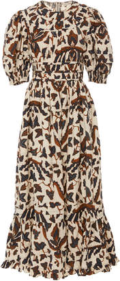 Ulla Johnson Indah Cotton Printed Dress